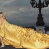 Christian Dior представляет платье, расшитое кристаллами Swarovski
