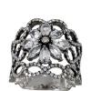 Кольца с белыми топазами - альтернатива бриллиантам