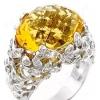 Как выбрать кольцо с желтым топазом: свойства и особенности камня