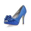 Атласные туфли – облагородят ваш образ