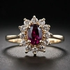 Золотое кольцо с рубином: драгоценный металл и мистический камень