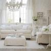 25 идей для интерьера белой гостиной