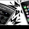 Iphone против Blackberry - выбор делового человека