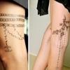 Переводные татуировки от Шанель