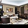 Современный интерьер гостиной для солидных людей