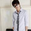 Узкий галстук: как носить