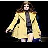 Зимнее пальто 2011: горчичный цвет снова в моде