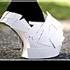 Туфли-монстры: бумажный бум