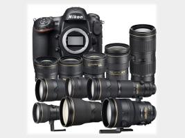 Полный комплект Nikon за 82 000 долларов