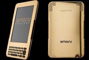 Позолоченный Kindle от Amosu Couture