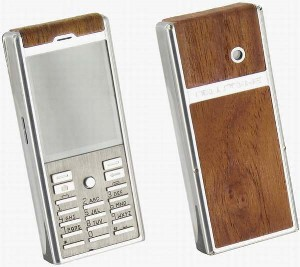 «Деревянный» телефон от Bellperre