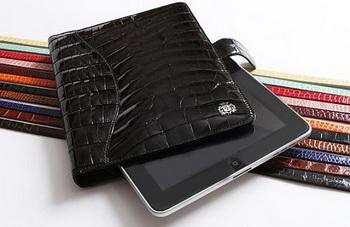Domenico Vacca предлагает чехол для iPad из кожи аллигатора