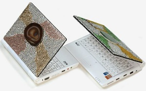 Ergo FashionNote: стильный ноутбук с кристаллами Swarovski