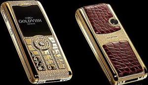 GoldVish Le Million - мобильный телефон за 1 миллион евро