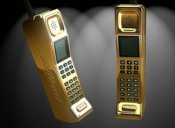 Золотой телефон от Стюарта Хьюза и Privй International