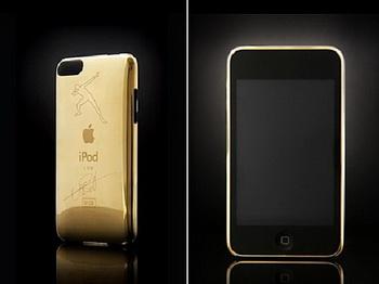 Золотой iPod с автографом Усаина Болта