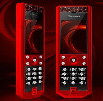Коллекция мобильных телефонов Gresso Grand Monaco - специально для милых дам