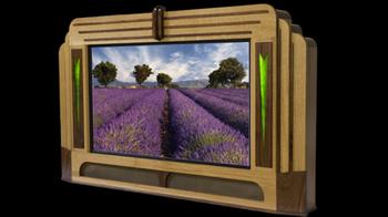 Подставка Hayden Cavoglia превратит ваш телевизор в домашний театр