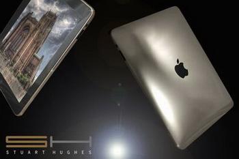 «Ледяной» iPad из белого золота от Стюарта Хьюджеса