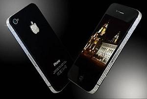 «Королевский» iPhone 4 с бриллиантами