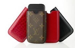 Louis Vuitton представляет чехлы для коммуникатора iPhone