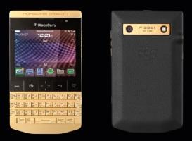 Позолоченный P'9981 Blackberry от Porsche Design