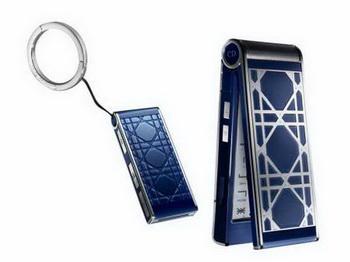 Сапфировый телефон от Dior