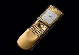 Коллекция золотых телефонов от GoldGSM