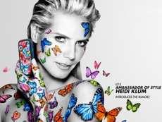 Супермодель Хайди Клум приняла участие в создании нового телефона LG