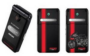 Sony Ericsson представляет мобильный телефон Ducati Z770