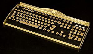 Клавиатура в стиле ар-деко
