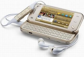 N97 Mini Gold Edition - люкс-телефон от Nokia