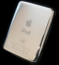 Готовится к выпуску первый в мире платиновый Apple iPod Nano