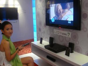Samsung выпустит серию инновационных LED-телевизоров