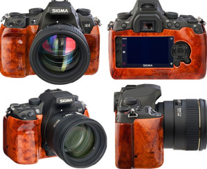 Фотоаппараты Sigma SD1 Wood Edition: фотографируйте со вкусом